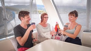 A Brutally Honest Sundowner Q&A with Mom || Sailing with Family