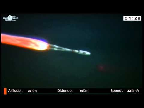 Galileo Launch 3 (satellites 5 & 6) - Liftoff replay