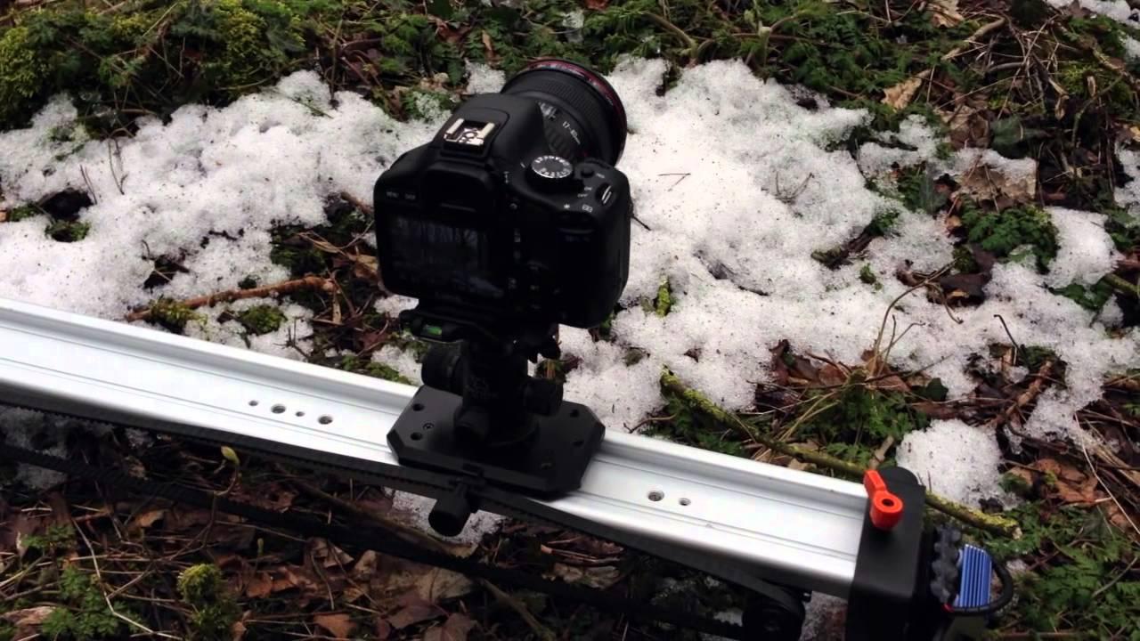 Simple Motorized Dslr Camera Slider Genesis Youtube
