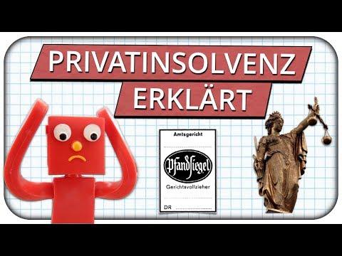 Privatinsolvenz einfach erklärt - Lohnt es sich oder Finger davon lassen?