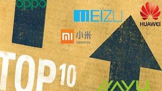 Top 10(diez) de los mejores móvil en China(País) 2015