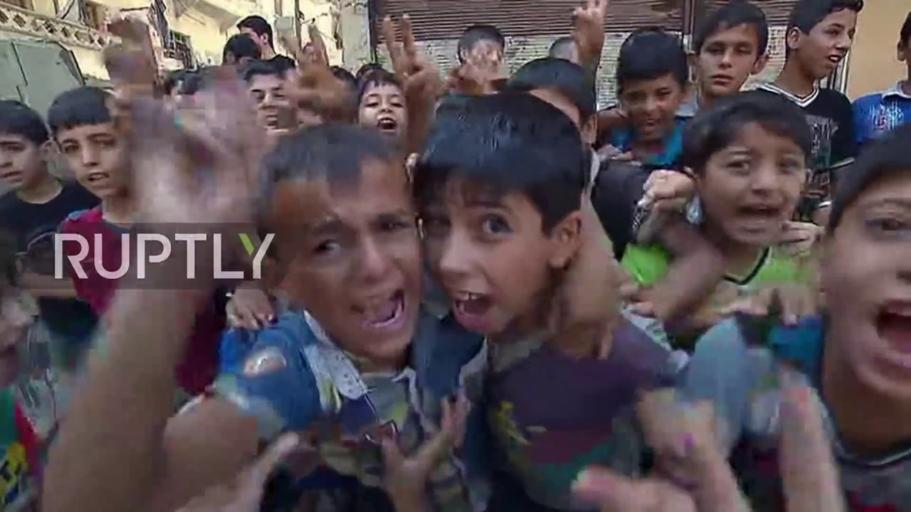 Syria: Over 200 residents flee fighting in Aleppo through humanitarian corridors