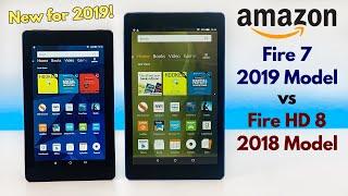 Amazon Fire 7 (New 2019 Model) vs Fire HD 8 (2018 Model) - Which is Better?