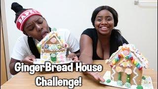 GINGERBREAD HOUSE CHALLENGE PT2