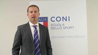 """Matteo Anesi, """"Corso Nazionale CONI per Tecnici di IV Livello Europeo"""""""