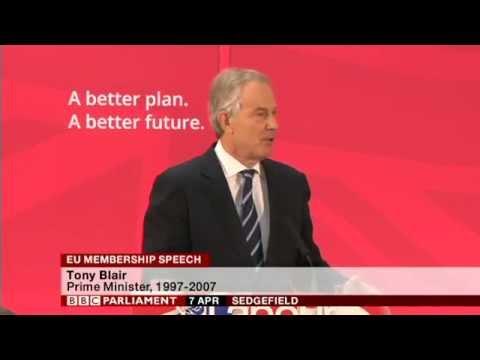 Tony Blair speech on EU Membership IN FULL, 7th April 2015