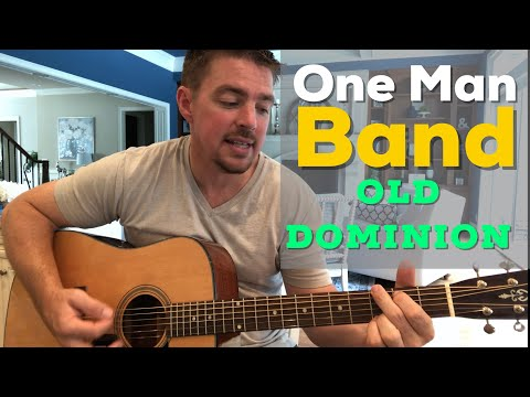 One Man Band | Old Dominion | Beginner Guitar Lesson