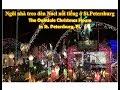 Ngôi nhà treo đèn nổi tiếng ở St. Petersburg, FL (Cuộc sống Mỹ - Vlog 20)