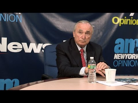 William Bratton on the NYPD's use of force