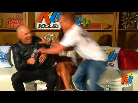 Pitbull Seduces My Wife Backstage!