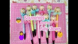 Souvenirs para Baby Shower |porcelana fría | Creative Jazz