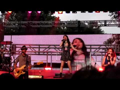 Miranda Cosgrove - kissin' U - Live (hd) 2011 - Binghamton, Ny video