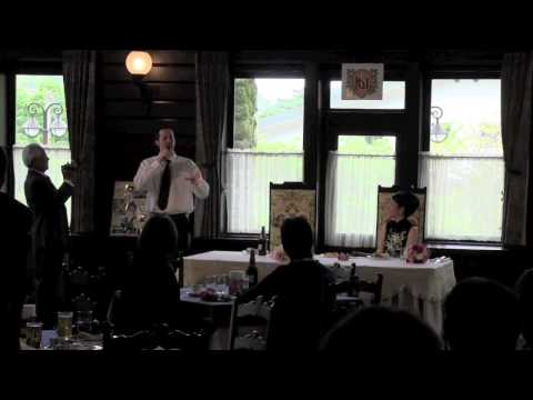 English Fluency & Speaking Confidence Expert Drew Badger Speaking Japanese At His Wedding Party