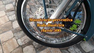 ROYAL ENFIELD REVISÃO PREVENTIVA RODA DIANTEIRA