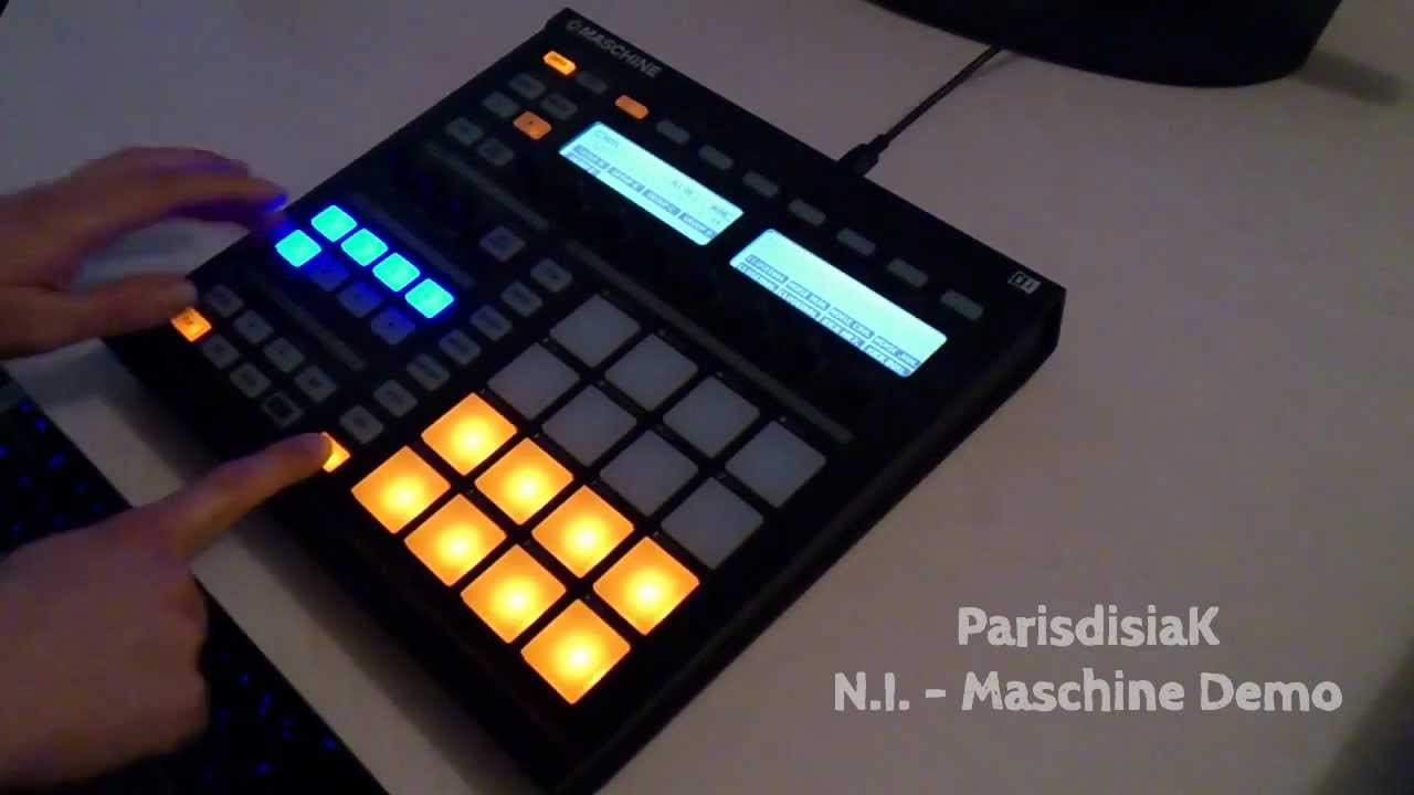 Demo maschine deep house electro youtube for Instrumental house music