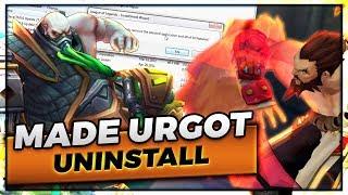 MADE THIS URGOT UNINSTALL | TIGERDYR TOPLANE - Trick2G