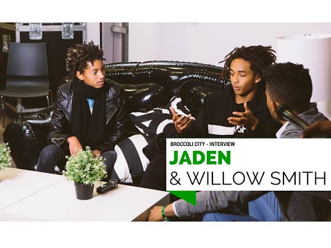 JADEN AND WILLOW SMITH - INTERVIEW - BROCCOLI CITY FESTIVAL