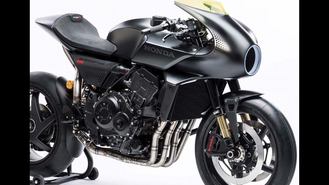 All New Honda Cb4 Interceptor Model 2018 Cb1000r Cafe Racer