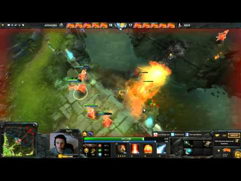 Dota 2 5vs5 Lina ALL MID