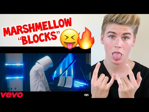 MARSHMELLO - BLOCKS OFFICIAL VIDEO **REACTION** MUST WATCH 2017 - MP3