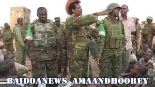 CIIDANKA SOMALIA IYO KUWA AMISOM MARKEY QABANAYEEN BUULO MAREER - SNA AND AMISOM TROOPS CAPTURE BM