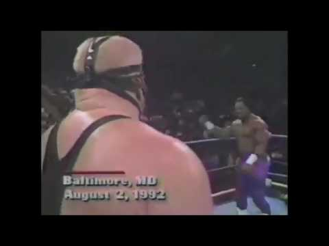 Vader vs Ron Simmons WCW Title Match