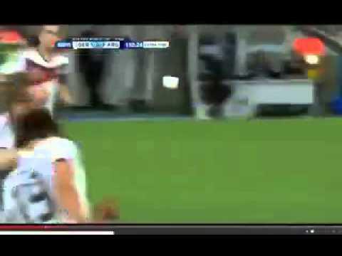 Germany vs Argentina FIFA worldcup final 2014 | Mario Gotze's goal :)