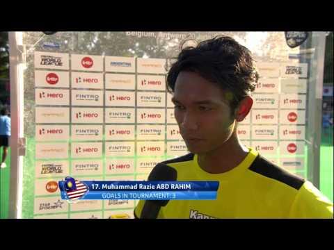 Post Match Interview Razie Rahim