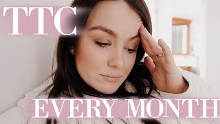 What TTC REALLY Looks Like Each Month | Trying to Conceive & Infertility | Rachel McGlothlin