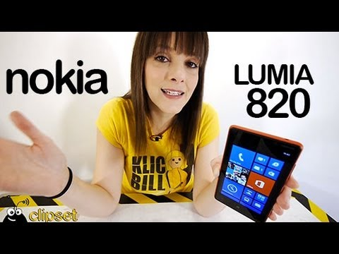 Nokia Lumia 820 Windows Phone 8 Review Videorama