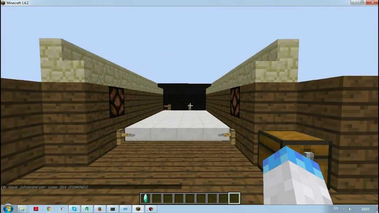 Minecraft Механизмы Боулинг - YouTube