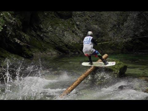 Wakeboarding Upstream in Slovenia - Red Bull Upstream 2012