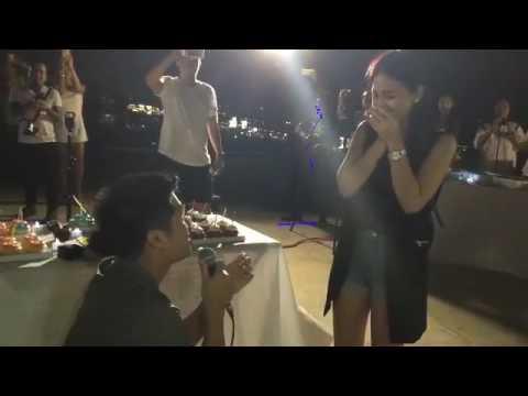 Paul Jake Castillo Proposes to Kaye Abad