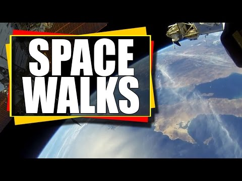 Incredible Views of Earth Captured from Nasa Live Stream during spacewalks