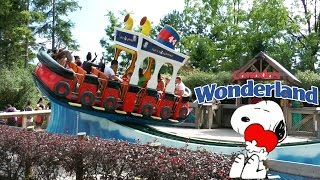 Canada's Wonderland all the kids and children rides... this is Canada's Disney World