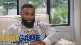 "Tyron Woodley: ""I was going to save this for the press conference, but..."" 
