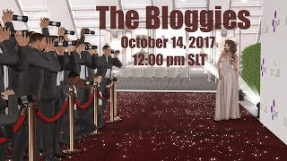 BVN Presents the Bloggies 2017 in Second Life - October 14th 2017 @ 12pm PST