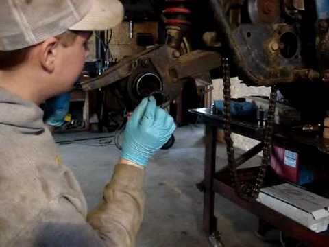 Replacing ATV Rear Axle Bearings