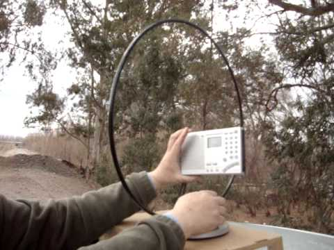 Test AM Loop Antenna Radio Sony 7600GR
