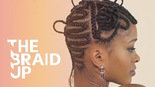 Swaggy Maze Braids | The Braid Up | Cosmopolitan
