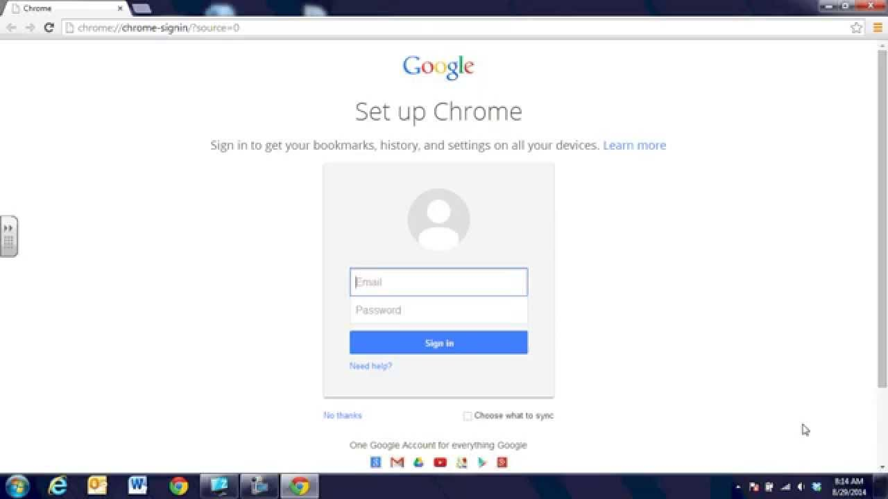 1 Google Chromebook Login