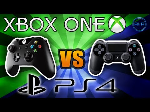 Xbox One vs PS4 Specs - Xbox One Gameplay! New Mic…