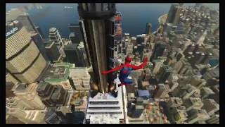 Spider-Man (PS4) - Webslinging & Wallrunning Around Manhattan!