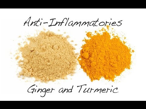 Anti-Inflammatories - Ginger and Turmeric
