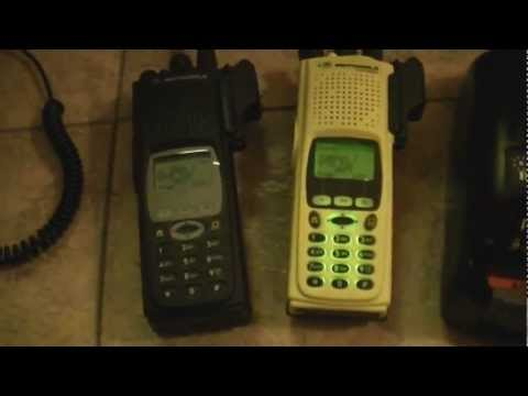 Motorola XTS5000 Model III Radio Package in Fire Yellow - MINT  UHF Q-Split (380-470mhz)