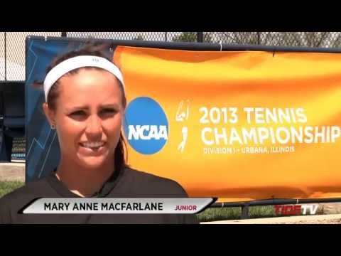 Alabama Women's Tennis Holds First Practice at NCAA Championships in Illinois