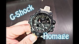 A G-Shock Homage? SMAEL Watch