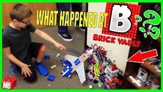 WHAT HAPPENED AT THE BRICK VAULT STUDIO?? Biggest Lego Studio! FULL TOUR