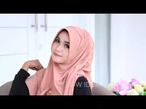 Tutorial Hijab Flowing Pad by Flow Idea TutorialTutorialHijab.