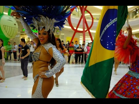 2014 China Luoyang Heluo Culture Tourism Festival - Brazil Folk Dance Ensemble 3